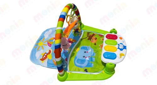 فروش اینترنتی تشک بازی موزیکال نوزاد مدل پیانو