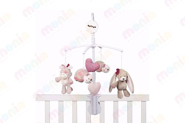 قیمت انواع آویز تخت نوزاد