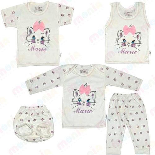 خرید اینترنتی لباس چند تکه نوزادی