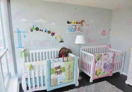فروش سیسمونی نوزاد دوقلو دختر و پسر