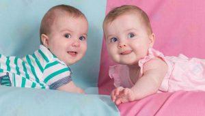 فروشگاه سیسمونی نوزاد دوقلو دختر و پسر